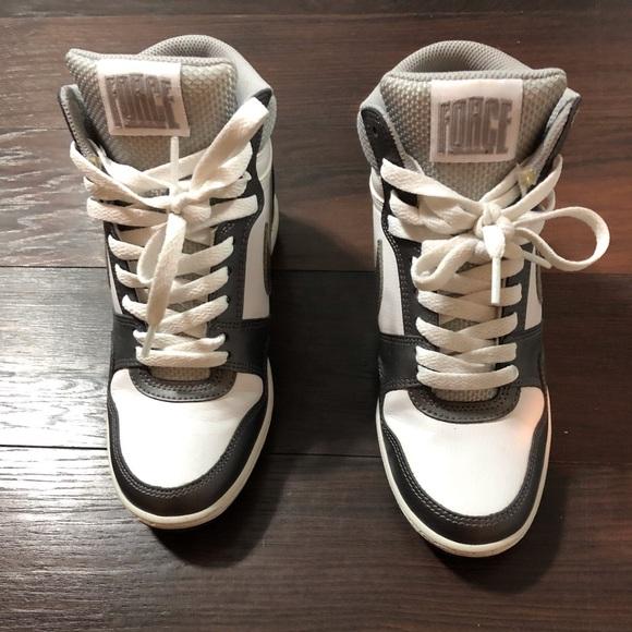Women's Nike Force wedge sneakers